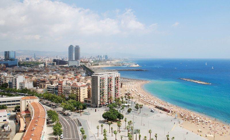 Calella, home to IRONMAN Barcelona