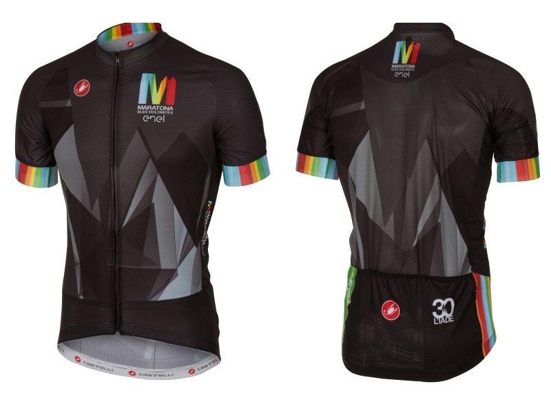 160531_Castelli Maratona 2016 Edition Race Jersey men's front and back 2