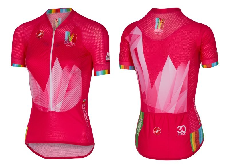 160531 Castelli Maratona 2016 Edition Race Jersey women s front and back fd0bc702e