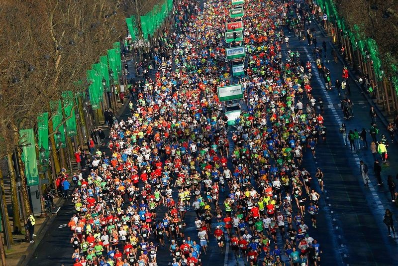 2016 Schneider Electric Marathon de Paris - Photo credit - AURELIEN VIALATTE - ASO