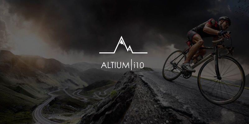 Altium i10 - cyclist banner