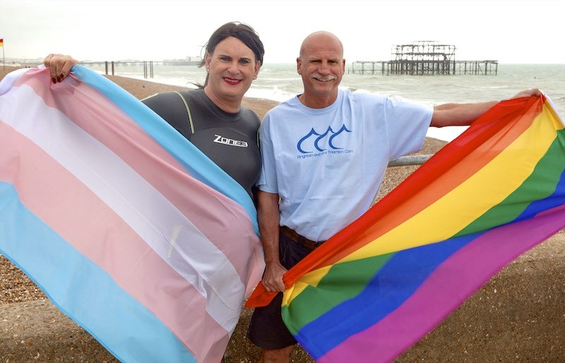 Brighton and Hove Triathlon embraces diversity with LGBT Rainbow Wave