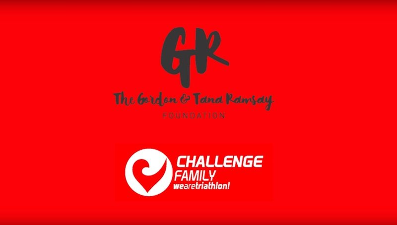 International partnership for Challenge Family and the Gordon and Tana Ramsay Foundation
