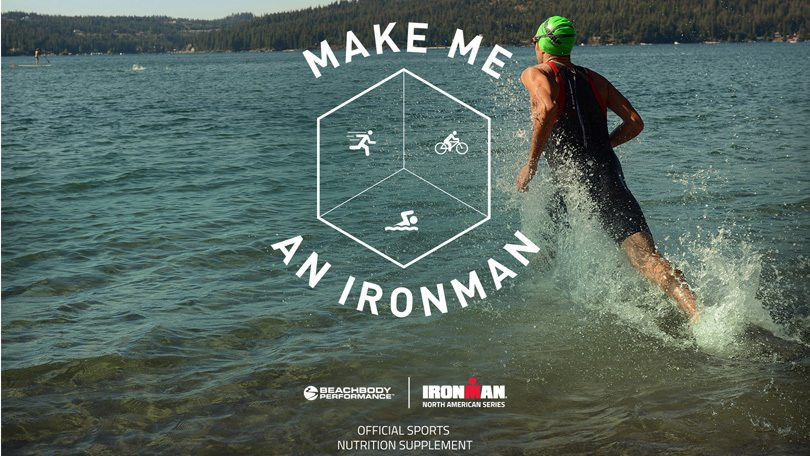 Make Me an IRONMAN campaign from Beachbody Performance