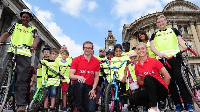 British Cycling and HSBC UK