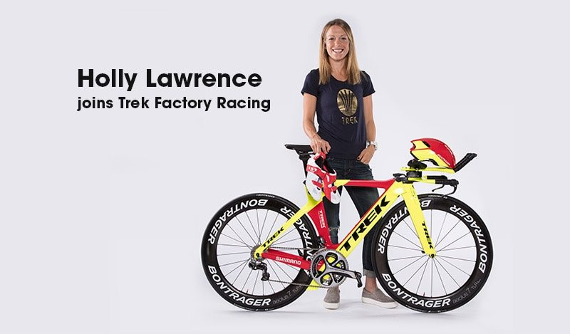 Trek Factory Racing welcomes Holly Lawrence to its triathlon program