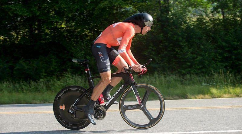 Tom Zirbel riding the Diamondback Serios