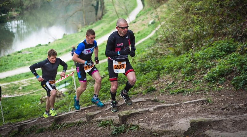 Storm the Castle Duathlon - runners
