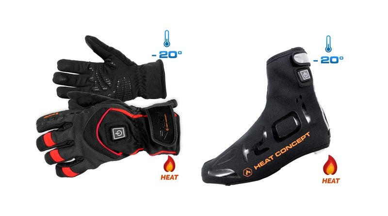 EKOI Heat Concept Gloves and Overshoes