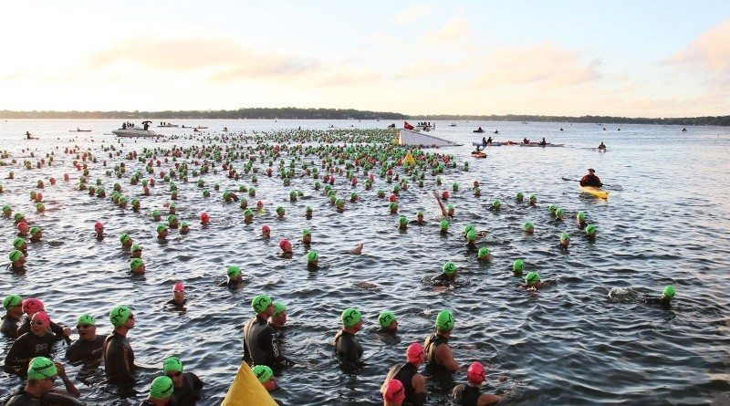 2013 IRONMAN Wisconsin - swim - photo credit IRONMAN-WTC