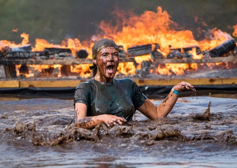 TOTAL WARRIORS TACKLE EAST LOTHIAN COURSE More than 3,500 participants tackled 31 punishing obstacles over a gruelling 12km course on Balgone Estate in East Lothian this weekend when extreme obstacle race Total Warrior came to Scotland for the first time. Competitors battled fire, ice, electric shocks, barbed-wire, floating pontoons, and a giant 100-foot long water slide on Saturday 12th and Sunday 13th September.