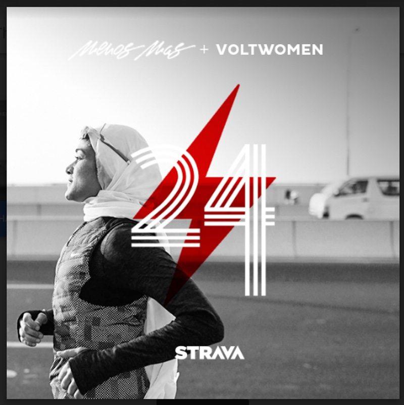 Strava joins Menos Mas and Voltwomen for Global Women Running Challenge