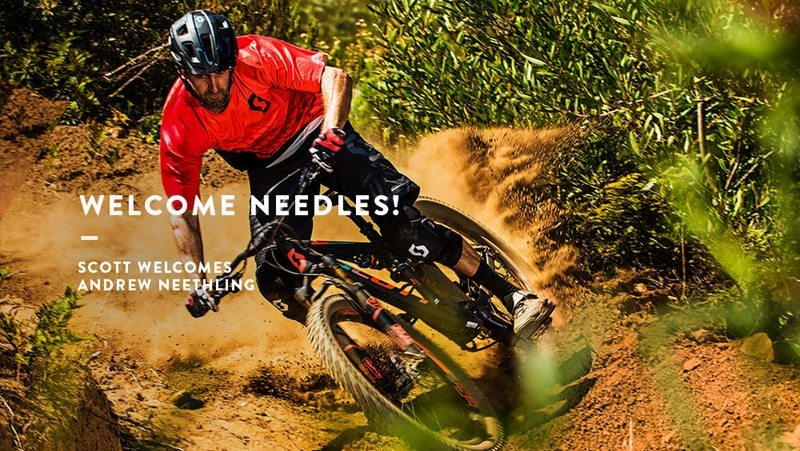SCOTT Sports introduces new MTB ambassador Andrew Neethling