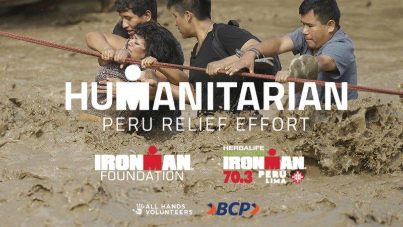 IRONMAN Foundation raising funds for flood-ravaged Peru