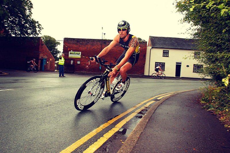 Jenson Button Trust Triathlon - bike