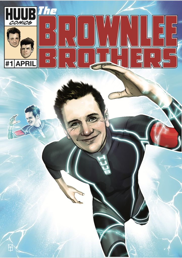 Brownlee Brothers comic book cover - April 1st