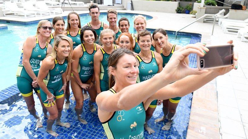 Triathlon Australia elite athletes - photo credit - Delly Carr - Triathlon Australia