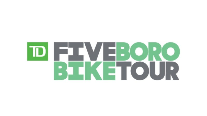 TD Five Boro Bike Tour logo