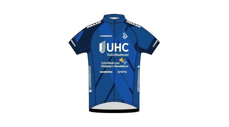 UnitedHealthcare Pro Cycling Team to promote UnitedHealthcare Children's Foundation - team jersey