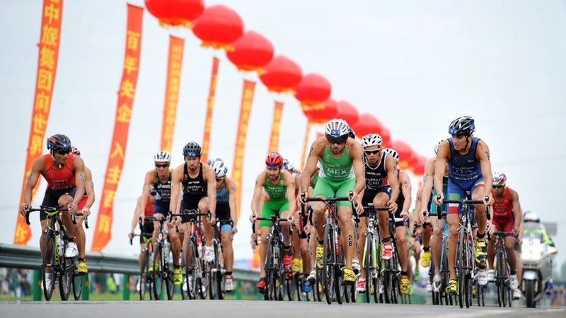 ITU World Cup Chengdu, China 2016 - photo credit ITU Janos Schmidt
