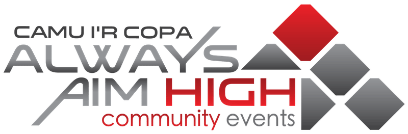 Always Aim High Community Events logo