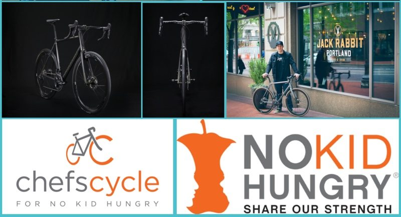 Argonaut and Chefs Cycle - No Kid Hungry initiative