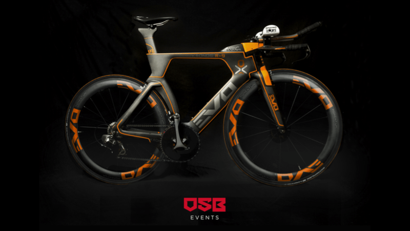 EVO2MAX and OSB Events wheel out Outlaw branded bikes