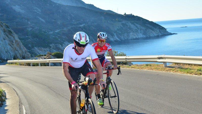Elbaman riders