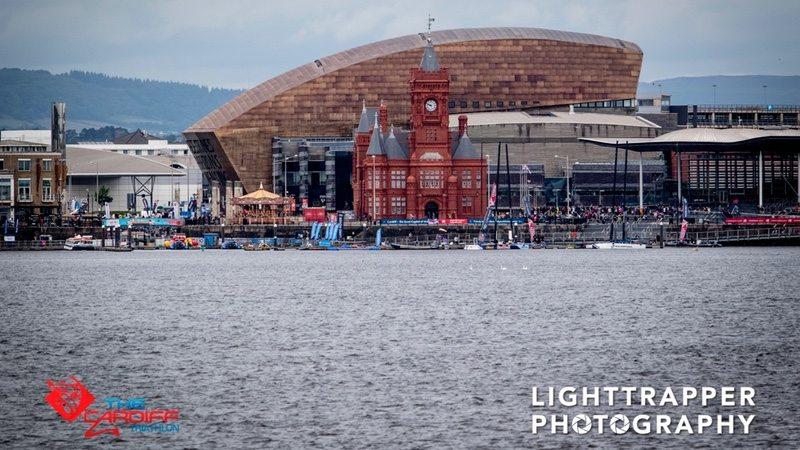 Cardiff Triathlon - bay - photo credit Lighttrapper Photography
