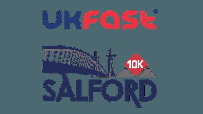 UKFast City of Salford 10K logo