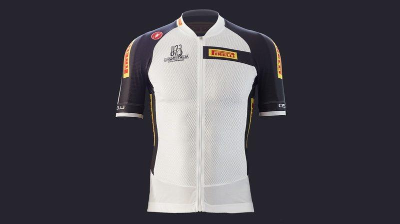 Pirelli Giro U23 White Jersey Front