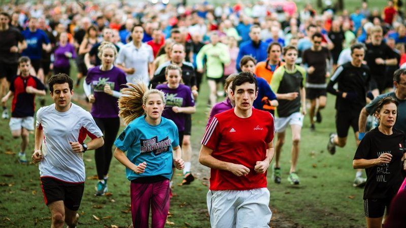 Parkrun - image credit Andy Waterman