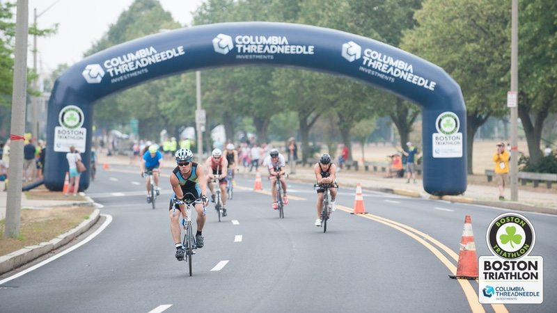 Columbia Threadneedle Investments Boston Triathlon - bike