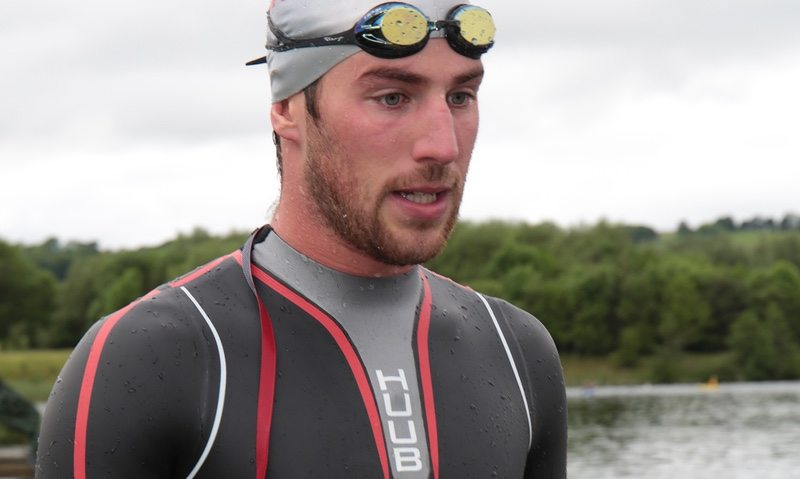HUUB sponsored athlete Gordon Benson