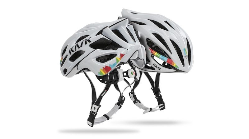 KASK supports Maratona Dles Dolomites with limited edition design