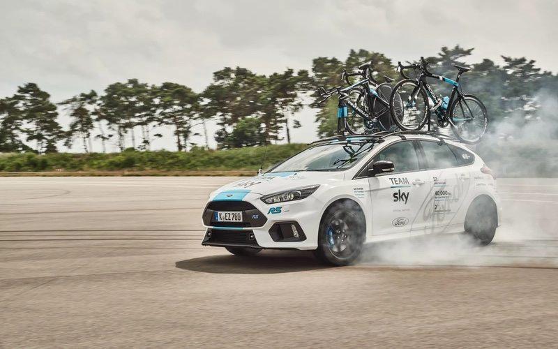 New Focus RS Team Sky car for the 2017 Tour de France