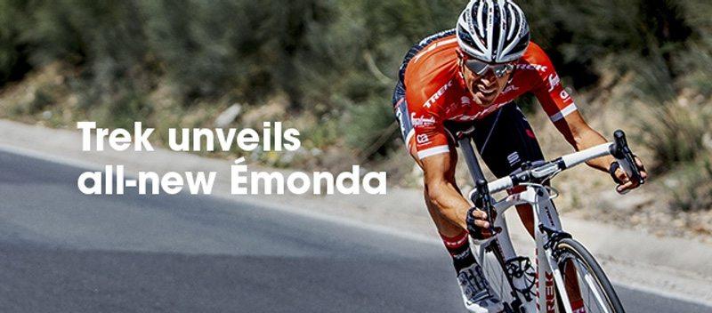New ultralight Emonda road bike from Trek