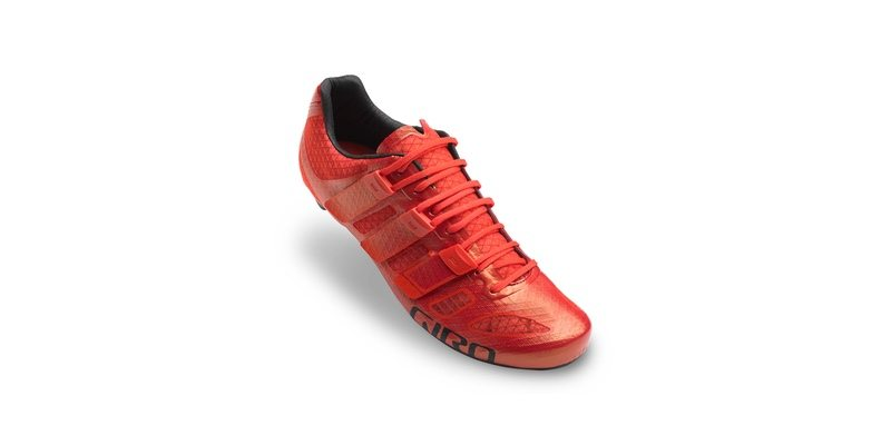 Giro Prolight Techlace shoe - bright red
