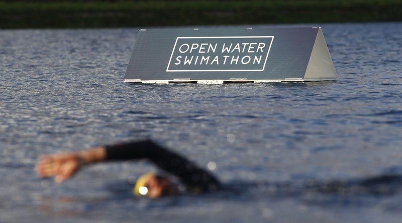 Open Water Swimathon launch - photo Limelight