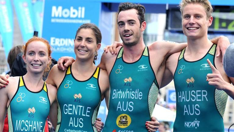 Australia - Mixed Relay World Champions in Hamburg