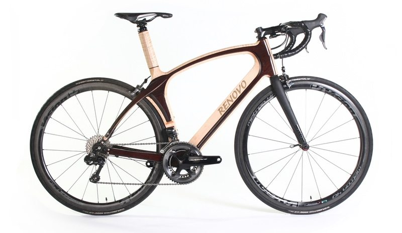 Renovo Aerowood bike with hybrid wood and carbon frame