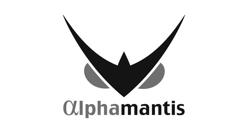Alphamantis logo