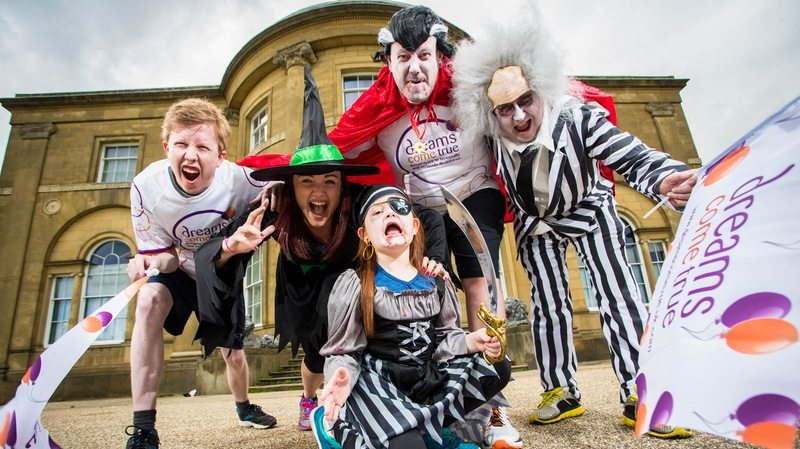 New Sports Tours event, Halloween Fun Run, supports Dreams Come True charity