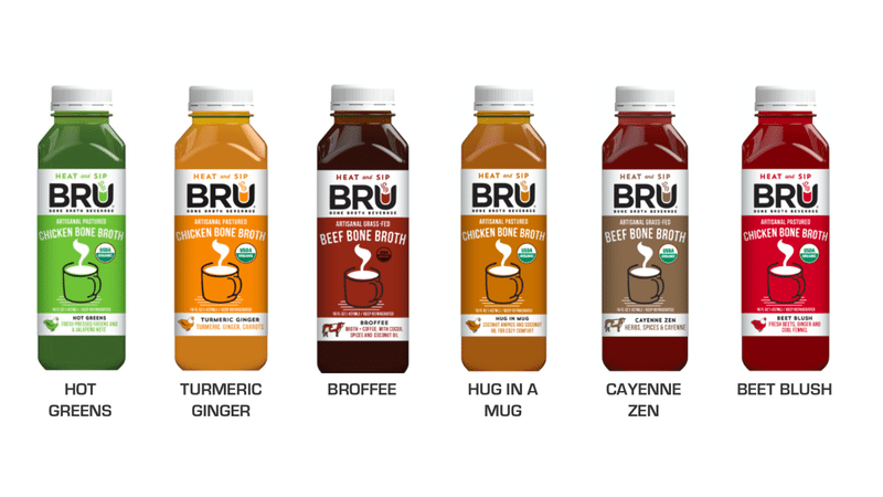 BRU Broth products