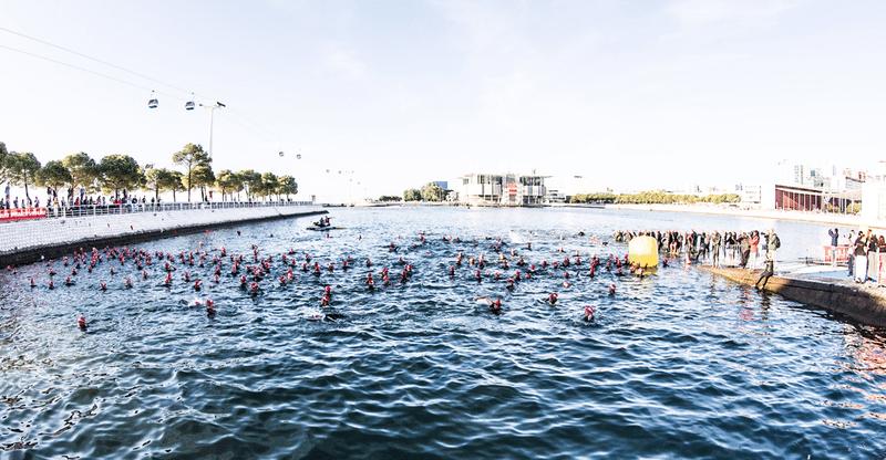 Challenge Lisboa swim start