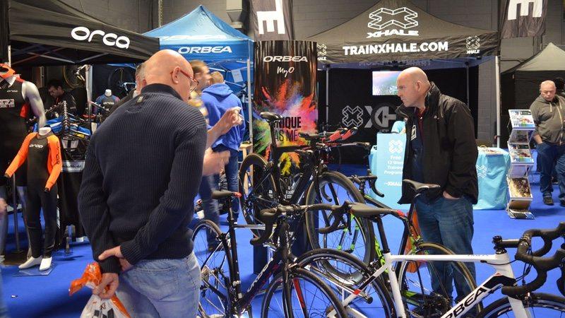 Bikes at Tri Expo