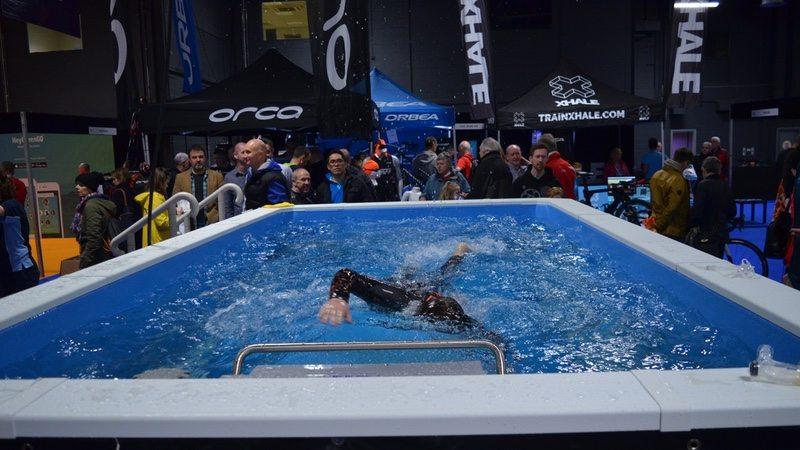 Endless Pool at Tri Expo
