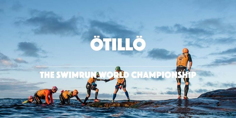 OTILLO Swimrun World Championship banner