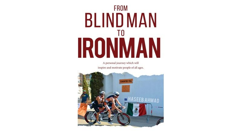 From blind man to ironman - book cover