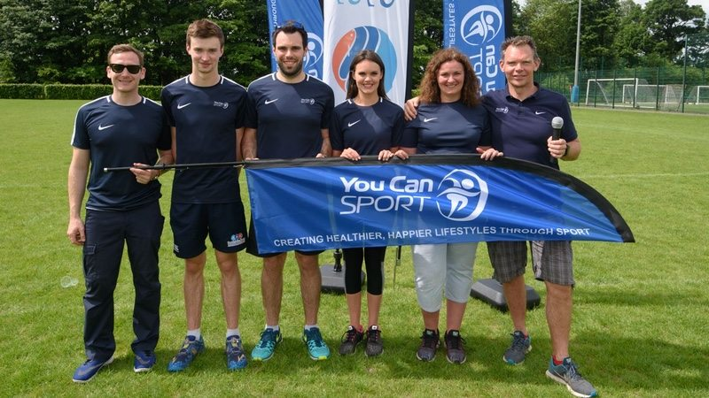 You Can Sport - Coull Family at triathlon